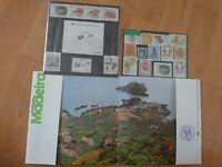 Rare set of madeira portugal stamps