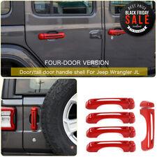 Door handle Cover Trim Decoration Exterior For Jeep Wrangler JL 2018 Accessories