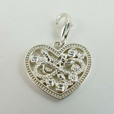 Sterling Silver 925 Thomas Sabo Infinity Heart Clip Charm