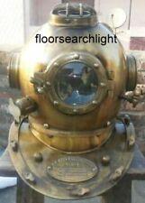 Antique Scuba Sca U.S Navy Mark V Deep Sea Marine Divers Divers Diving Helmet