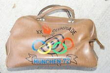 1972 UTI ISSF shooting Athlete Used Vinyl Bag 20th Olympic Games Munich Germany