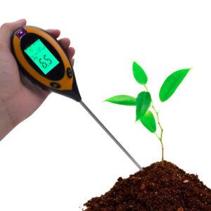 Soil Survey Instrument 4 in 1 Plant Soil PH Moisture Light Soil Meter Thermomete