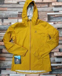 Salomon Lightning Waterproof Hooded Jacket, Arrowwood , Women's Medium RRP £150