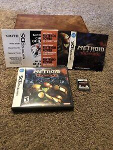 Metroid Prime: Hunters Nintendo DS CIB Complete w/ Manual & Case NEAR MINT Rare!