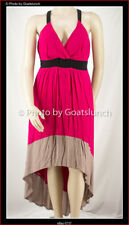 City Chic High Low Dress Size 14 (XS) Smart Casual