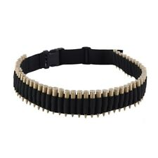 Hunting 50 Rounds Rifle Bullet Ammo Cartridge Belt Bandolier for 308 cal. 30-30