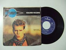 """Al Corley – Square Rooms - Disco Vinile 45 Giri 7"""" Stampa ITALIA 1984"""