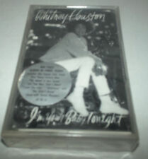 WHITNEY HOUSTON I'm Your Baby Tonight cassette tape Brand NEW & factory sealed