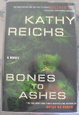 BONES TO ASHES BY KATHY REICHS/SUSPENSE/THRILLER 1ST EDITION WITH MYLAR COVER