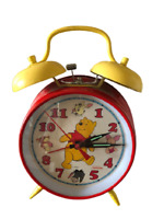 Disney Winnie The Pooh Wind-up Twin Bell Alarm Clock By Sunbeam