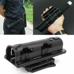360° Black Baton Holder Expandable Swivelling Baton Case Telescopic Holster USA