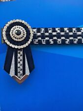 New Checkerboard & Bling Browband