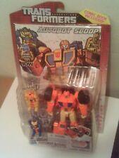 Transformers Generations Deluxe SCOOP Brand New MOC