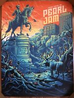 Dan Mumford Pearl Jam Fenway Orange Sky Variant S/N Edition of 100