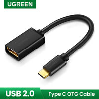 Ugreen USB-C Type C Male to USB 2.0 A Female OTG Cable Adapter For Macbook