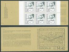 1982 EUROPA SVEZIA LIBRETTO MNH ** - VS