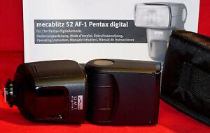 Metz: Mecablitz 52 AF-1 Pentax digital