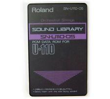 """Roland SN-U110-05 """"Orchestral Strings"""" Rom Card for U220 u110 u20 MV30 CM64 MT32"""
