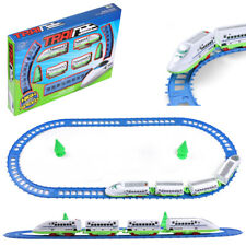 14Pcs Battery Operated Super Speed Bullet Train And Track Set Kid Christmas Gift