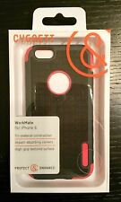 """Cygnett Workmate Evolution Case for Apple iPhone 6 iPhone 6S 4.7"""" Black Red"""