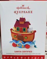 2016 Hallmark Santa Certified 3rd in series Keepsake Ornament