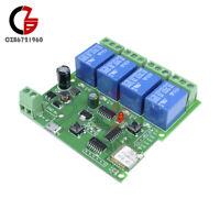 5V 4-CH Four Channel WiFi Wireless Delay Relay Switch APP Remote Control Module