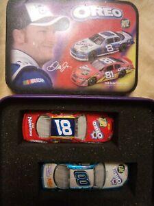2006 Dale Jr Oreo Ritz 2 Monte Carlo Set Tin #8 & 81 Limited Edition Motorsport