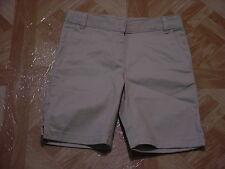 George Girls School Uniform Beige Shorts Size 4
