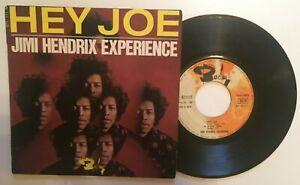 "Jimi Hendrix  "" Hey Joe +3 "" 45 EP Original Barclay 071 111"