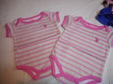 ~US POLO~ ONEIES~..NEW...3-6 MONTHS...NEW...2.99