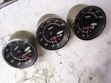 Vintage SkiRoule Snowmobile Gauge Speedometer 0mi NOS RTX Laser RT 340 440