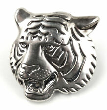 Head Made in Thailand 10.1 gram Sterling Silver Tiger