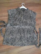 LOVELY SILKY FEEL , LIGHT WEIGHT TOP SIZE XL[APPROX 14] BY APT