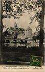 CPA Moret sur Loing - Le Pont l'Eglise et la Porte du Pont ou de Bourgo (472102)