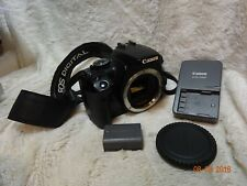 Clean Canon  400d Digital SLR Camera Body,Battery & genuine Charger