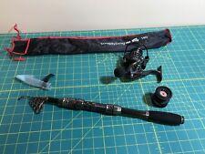 Sougayilang Fishing Rod Portable Pocket Carbon Fiber Telescopic Travel Pole