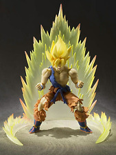 Dragon Ball Z S.H. Figuarts Super Saiyan Son Goku & ENERGY AURA Yellow New