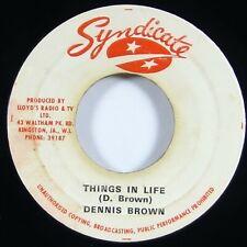 "Dennis Brown ""Things In Life"" Reggae 45 Syndicate mp3"