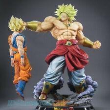 Dragon Ball Z Dragon Ball Z Super Saiyan Broli vs son Goku Estatua Figura Pintada En Stock