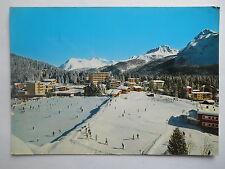 """CPSM """"Arosa - Eisbahn Obersee mit Übungshügel"""""""