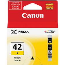 Genuine Canon CLI-42Y yellow Pro-100 PIXMA 42 ink cartridge Pro 100 CLI42