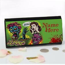 Personalised Zombies Living Dead Large Ladies Money Coin Purse Mum Gift EC60