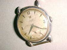1950 era OMEGA BUMPER Stainless Steel AUTOMATIC - CAL 344 - FOR REPAIR