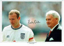 Bobby ROBSON Signed Autograph ENGLAND Football Manager 16x12 Photo AFTAL COA