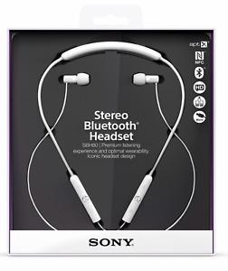 Sony SBH-80 Authentic Genuine OEM Stereo BlueTooth Head Set Ear Phones Bud SBH80