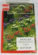 BNIB N BUSCH 8109 120 FLOWERS / DAHLIAS -  FIELD / GARDEN KIT