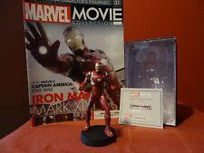 MARVEL MOVIE COLLECTION #31 Iron Man Mark XLIV figurine EAGLEMOSS French NUOVO