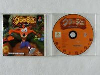 Crash Bandicoot PS one Books PS1 Sony Playstation From Japan