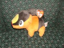 """Ty Beanie Baby ~ Tepig ~ 7"""" Pokemon Uk Exclusive New ~ Mint with Mint Tags Rare"""