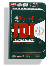 Radial JDI Passive DI for acoustic guitar, bass and keyboards , BEST OFFER R020